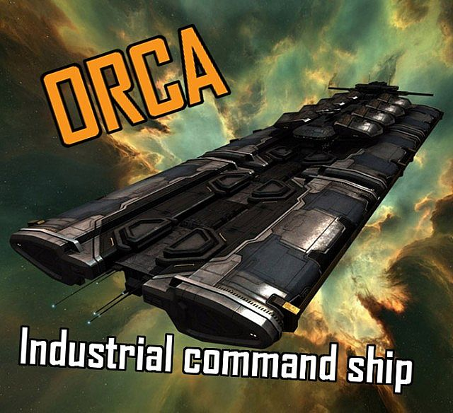 Eve Online Orca Capital Industrial Ship Minecraft Project