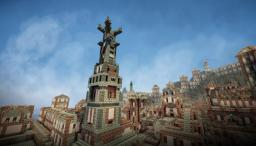 The Magnificent City of  Alasantine -The Tales of Runebrire Official Project Minecraft