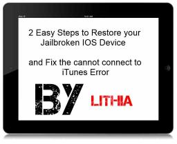 How Restore a Jailbroken IPODTouch/Ipad/Iphone Minecraft Blog