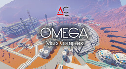 Atllas Corporation - Mars OMEGA Complex Minecraft Map & Project