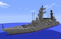 JMSDF DD ASAGIRI class Destroyer [1.5.1] Minecraft Map & Project