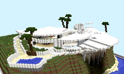 tony stark iron man house final version - Iron Man House