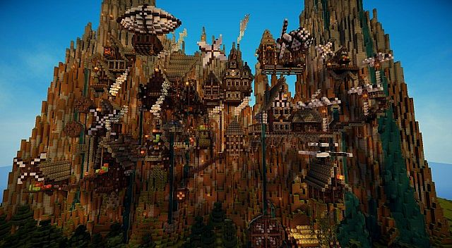 Minecraft Steampunk Server