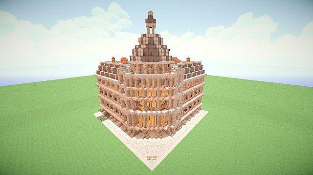 Parisian Building Minecraft Project