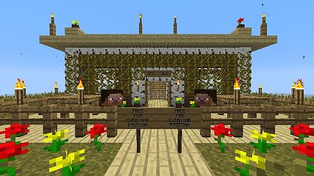 Free House For Everyone Minecraft Project