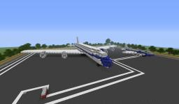 Elvis Presley's airplanes Minecraft Map & Project