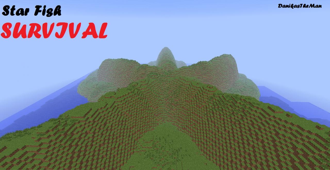 Star Fish - MInecraft Survival Map Minecraft Project