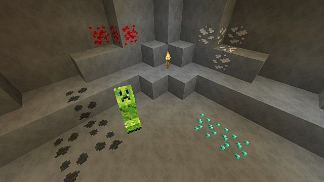 A cave with better ores.