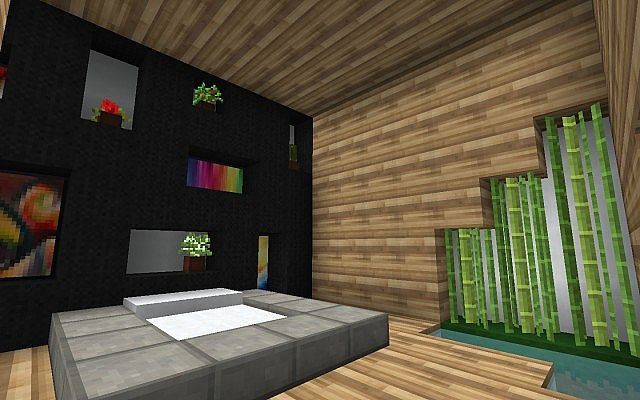 Douxe Minecraft Modern House With Delica Laxe And Moda
