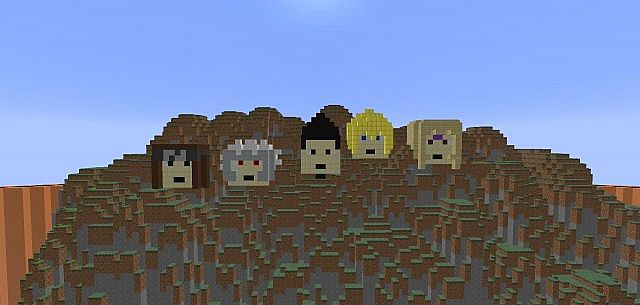 The Hokages faces.......