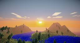 Minecraft Terraformed World - Undiscovered Island