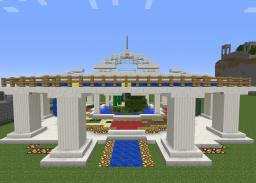 Portal hub Minecraft Project