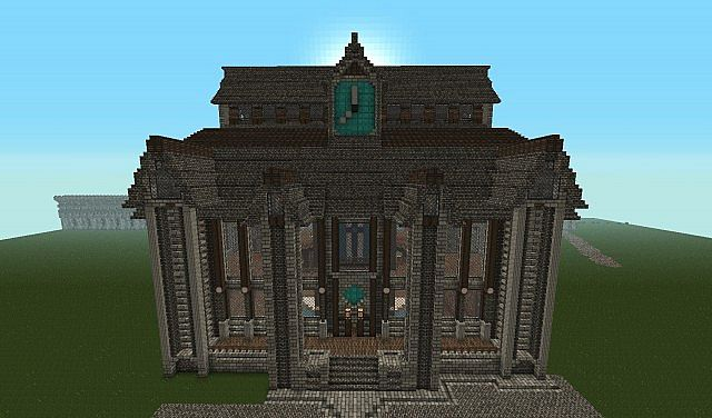 The Raven S Port Guild Hall Synith Minecraft Project