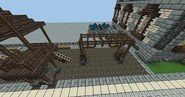 Minecraft Playground Slide