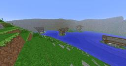 Medieval Houses / Custom Terraforming Minecraft Map & Project