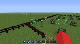 Creeper fun! Minecraft Map & Project