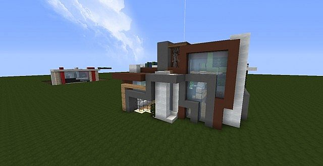 Ultra Modern Rmm Random Shaped House Minecraft Project