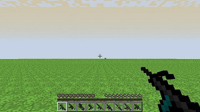 текстуры майнкрафт 1.8.8 изменения оружия #11