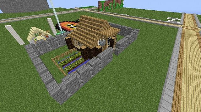 how to make a cool dog house in minecraft