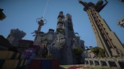 Facing Castles PVP Minecraft Map & Project