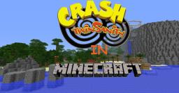 Crash Twinsanity in Minecraft! 100%!!!! Minecraft Map & Project