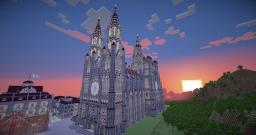 Neogothic Cathedral Minecraft Map & Project