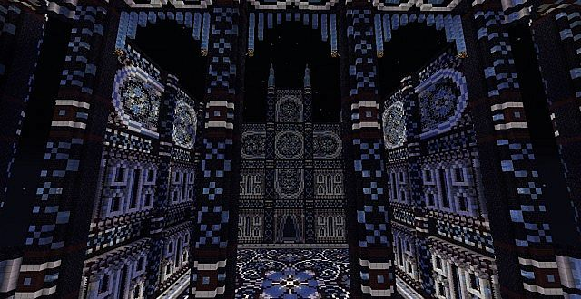 Cathedral Of Aquilon Work In Progress Minecraft Project