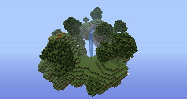 Floating island challenge map minecraft project floating island challenge map the island gumiabroncs Images