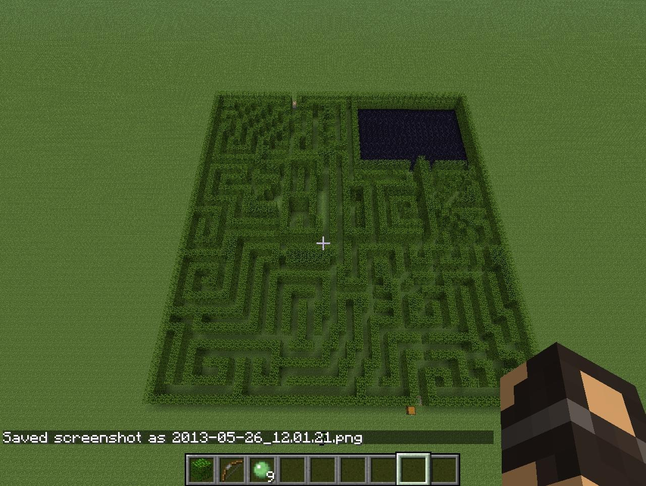 how to build the maze runner map in minecraft