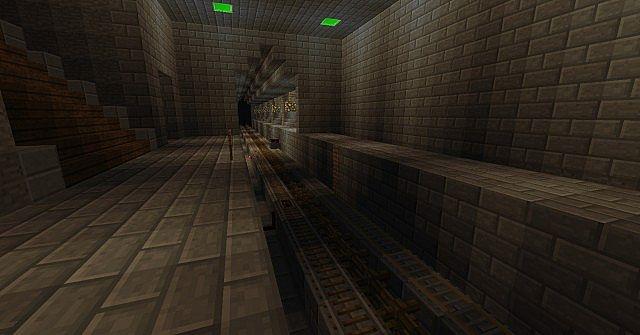 train station and tracks Beta