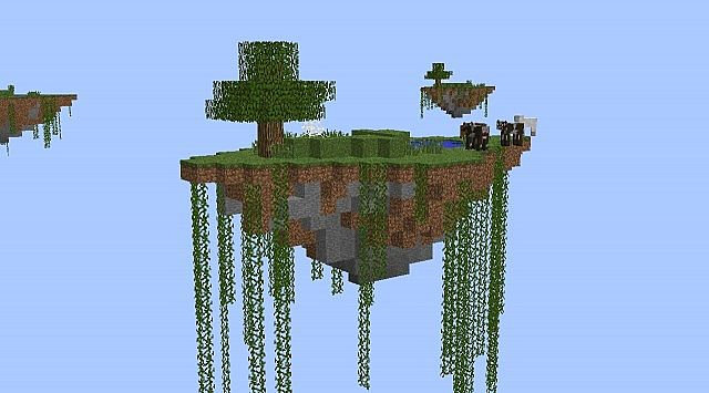 The Standard Island - With ores and trees!