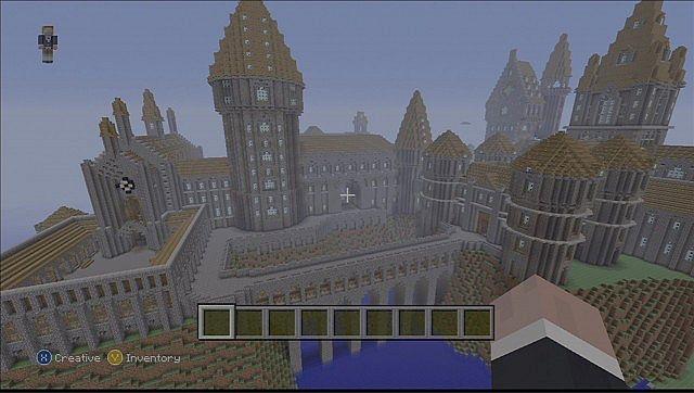 XBOX Epic Hogwartswizarding World Map Minecraft Project - Maps fur minecraft xbox 360