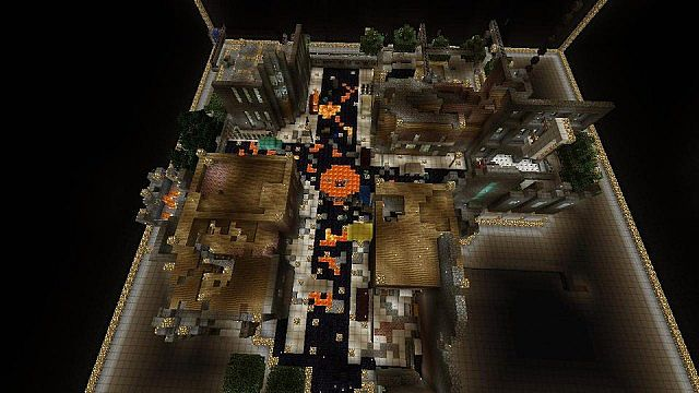 Black Ops 2 Zombies Town Minecraft Xbox 360 Minecraft Map
