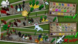 Sphax addon [64x] - Clay Soldiers v8.02-9.04 [132]-[145] MOD PATCH Minecraft Texture Pack