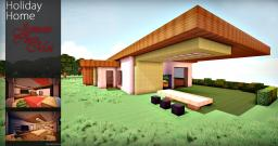Modern Holiday Home - Jamais Chez Moi Minecraft Map & Project