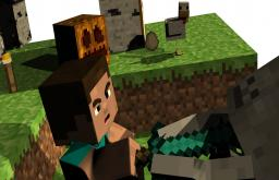 My 3D Animation Minecraft Map & Project