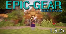 EpicGear | Plugin For Bukkit 1.5.2 - Makes 10 new sets of custom armour for minecraft - NO MODS required! Minecraft Map & Project