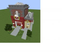Simcity 5 Fire station Minecraft Map & Project