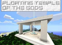 Floating Temple of the Gods Minecraft Map & Project