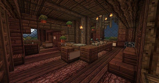 The Eagles Den Medieval Rustic Inn World Of Warcraft Inspired