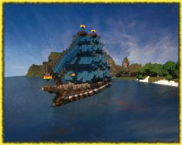 The Marvelous Star-Fantasy Ship Minecraft Project