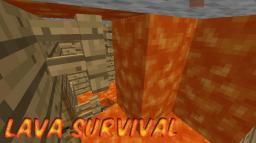 Lava Survival Minigame Minecraft Map & Project