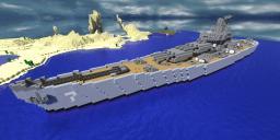 U.S.S. Defiant BB-7 [Original Ship] Minecraft Map & Project