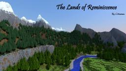 [Survival/Adventure] The Lands of Reminiscence: large custom terrain, dungeons and villages, with ores and caves Minecraft Map & Project