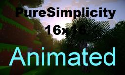 PureSimplicity Animated [1.5] [16x16] [Animated] Minecraft Texture Pack