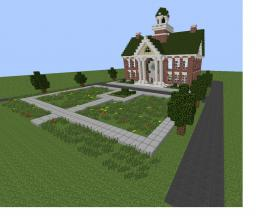Simcity 5 Town hall Minecraft Map & Project