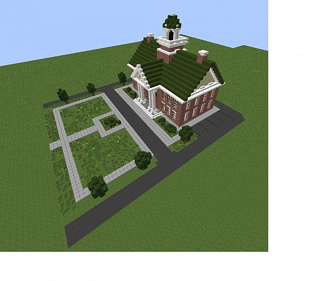 Simcity 5 Town hall Minecraft Project
