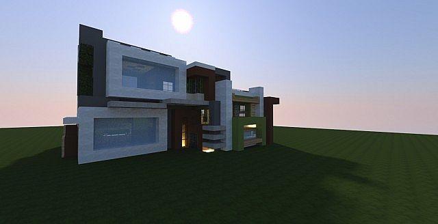 UltraModern RMM Random Shaped House Minecraft Project