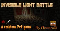 Invisibility Light Battle Minecraft Map & Project