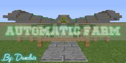 Automatic Farm /Wheat, Carrots and Potatoes Minecraft Project